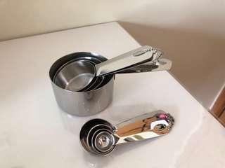 Teaspoon and measuring spoon set (8pcs)