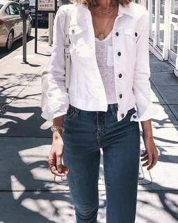White Jacket Jeans