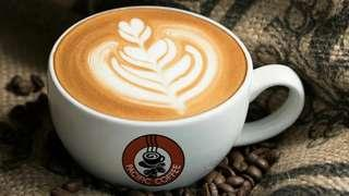 2張 Pacific Coffee $50 電子咖啡券