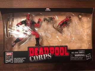 🚚 Marvel 漫威傳奇載具組 無機車載具 無貼紙 無松鼠 死侍 Deadpool  狗 公仔