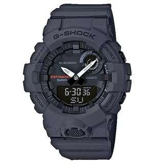 am Tangan Pria Casio G-Shock GBA-800-8ADR Gray Original