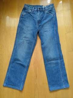 "Uniqlo U Jeans 25"" 160"
