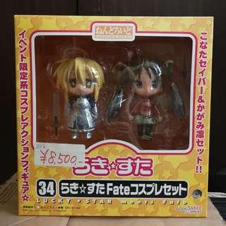 Lucky star x fate stay night nendoroid