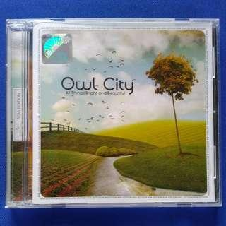 CD Owl City - All Things Bright and Beautiful