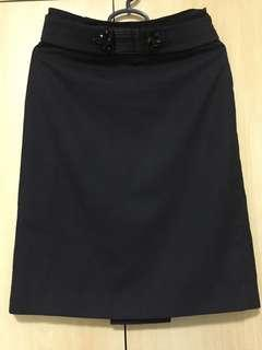 🚚 TAHARI Office Black Skirt