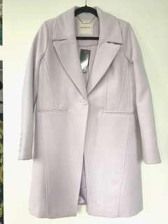Forever New Lilac Coat