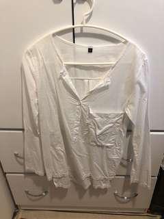 百搭 白襯衫