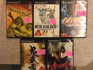 遊戲片 PS2 日本機専用 都是一片160