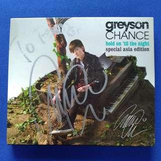 CD Greyson Chance - Hold 'til the Night