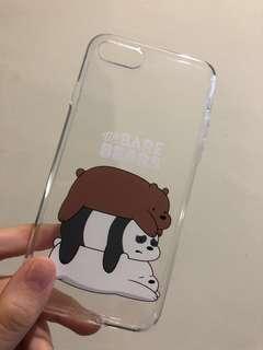 iphone 7/8 we bare bear case