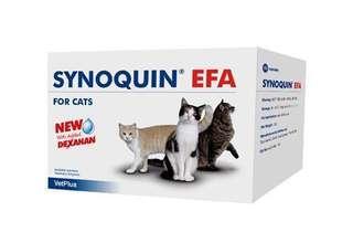 VetPlus Synoquin®️ EFA 貓用關節補充膠囊 90粒 (2件或以上優惠)