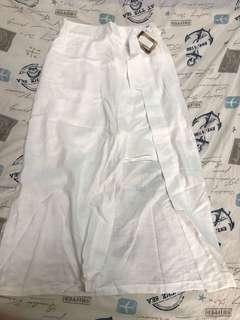 全新造型白裙