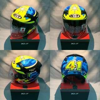 Helmet KYT Alexis Aspargaro