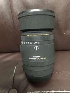 少有新淨 Sigma 70mm F2.8 DG Macro Canon