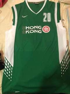 香港籃球隊球衣 XXL