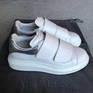 Alexander McQueen White Sneakers SIZE 38 1/2