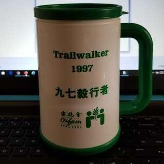 樂施會 Oxfam 1997 毅行者 Trailwalker 膠杯