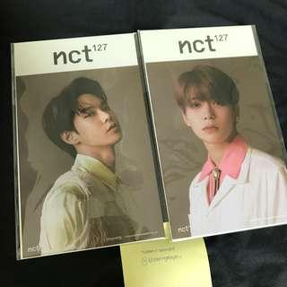 NCT Jaehyun and Doyoung Reg-Irreg Postcard ONLY