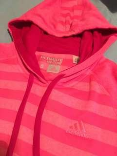 Brand new Adidas climawarm pinky hoodies with finger hole