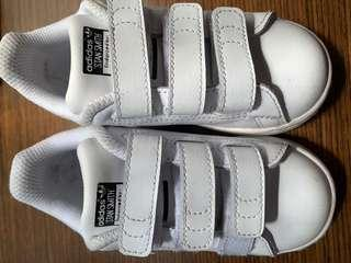 Adidas Stans Smith 女童 size usd8
