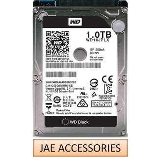 """WD Black 2.5"""" 7200RPM 32MB Cache SATA Internal HDD 1TB"""