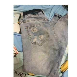 Jeans robek-robek