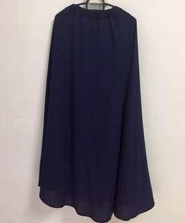 Used long skirt RM15. In Navy Blue, Mint Green, Dusty Purple and Maroon.