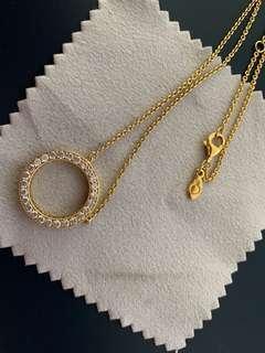 100% Authentic Pandora Diamond necklace