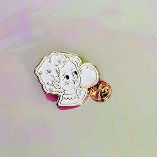 🚚 Bubblegum Girl Enamel Pin