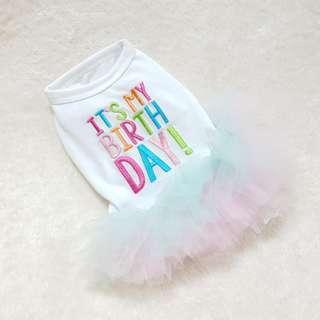 Happy Birthday TuTu Dress