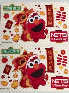 Limited edition Sesame Street Elmo CNY design nets flash pay card for sale. #EndgameYourExcess