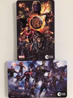 Limited edition brand new Marvel Avengers Ezlink cards for sale. #EndgameYourExcess