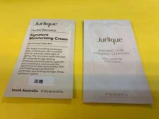 Jurlique Signature Moisturising Cream 草本亮肌面霜 and Radiant Skin Cleanser 亮肌潔面泡沫 ($3@)