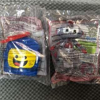 麥當勞開心樂園餐玩具 lego bot