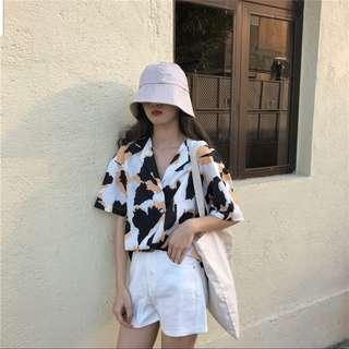 🚚 Jadelyn Korean Button Down Top