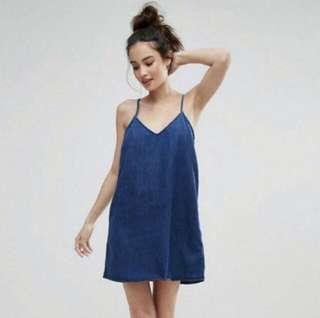 🚚 Denim Cami Dress