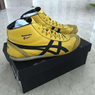 Onitsuka Tiger Mexico Mid Runner THL328 (yellow/black) Men size 10