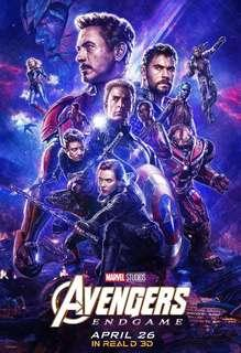 Avengers Endgame IMAX 3D Lido tickets Opening Day