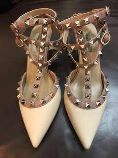 窩釘高踭鞋女神鞋