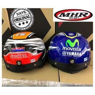 MHR III Half Cut Helmet Steng Repsol Movistar Helmet Kura