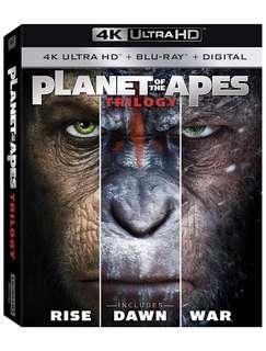 猿人三步曲 Planet of Apes trilogy 4K (美版中字)