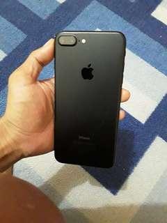 Iphone 7 plus black matte 128 gb nego
