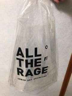 🚚 潮流藝術展透明提袋