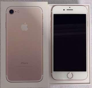 🚚 Iphone 7 Rose Gold 32GB no scratch