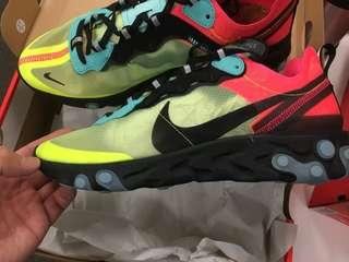 New Nike React element 87 limited US9, 27cm