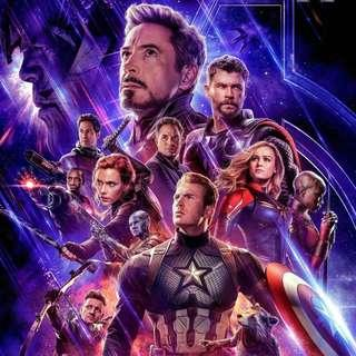 Marvel Avengers: Endgame Movie Tickets