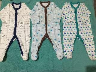 Sleepsuits Libby 3-6months