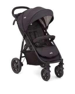 JOIE Signature LITETRAX 4 Stroller + BABY CAR SEAT