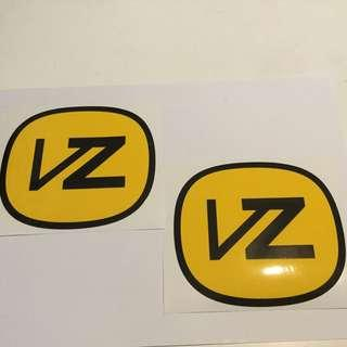 Von Zipper stickers