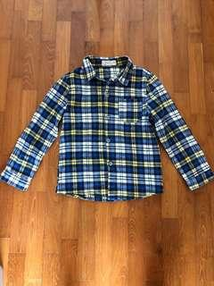Boys Flannel Shirt